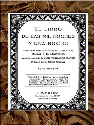 Picture of El Libro de las Mil y una Noches, Tomo 1