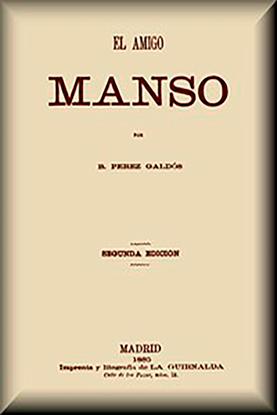 Imagen de El amigo Manso por Benito Pérez Galdós