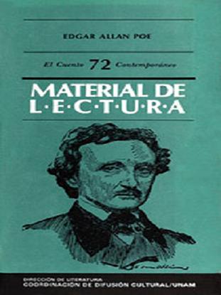Imagen de Edgar Allan Poe. Lecturas