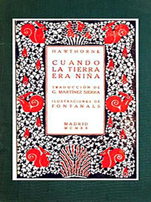 Picture of Cuando la tierra era niña por Nathaniel Hawthorne